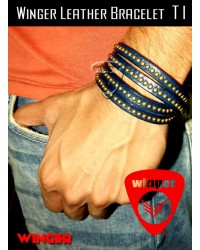 Winger Leather Bracelet T1