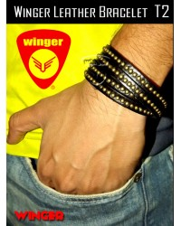 Winger Leather Bracelet T2