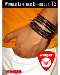 Winger Leather Bracelet T3