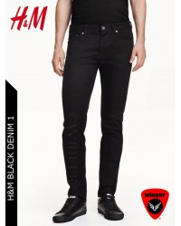 H&M BLACK DENiM 1