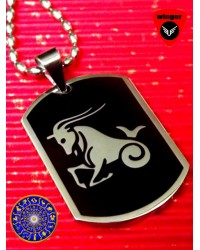 CAPRICORN Zodiac Sign Locket(with Chain)