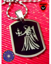VIRGO Zodiac Sign Locket(with Chain)