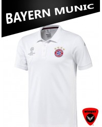 Bayern Polo 1 17/18 (White)