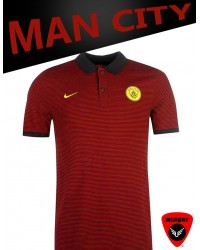 Man City Polo 2 17/18 (Maroon)