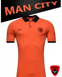 Man City Premium Polo 3 17/18
