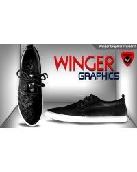 Winger Graphics Trainer Shoe 2